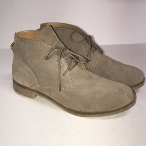 Lucky Brand Garboh Suede Lace-up Bootie
